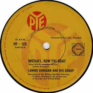 Lonnie Donegan And His Group - Michael, Row The Boat