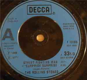 The Rolling Stones - Street Fighting Man / Surprise Surprise / Everybody Needs Somebody To Love